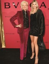 Ellen von Unwerth and Lena Gercke . Bulgari Hosts #Starsinbulgari Night In Berlin