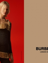 Claudia Lavender photographed by Danko Steiner for Burberry c Courtesy of Burberry -  Danko Steiner
