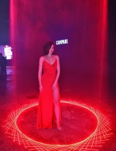 Ana de Armas . Campari Entering Red, the new short movie directed by Matteo Garrone