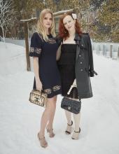 Lara Stone & Karen Elson