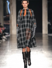 Francesca Liberatore Fall Winter 2019/20 collection (photo by Giuseppe Spena)