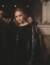 Lily-Rose Depp at Chanel The Paris New York 2018-19 Metiers d'art collection