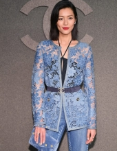 Liu Wen at Chanel The Paris New York 2018-19 Metiers d'art collection