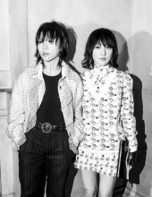 Leah Dou with Zhou Xun at Chanel The Paris New York 2018-19 Metiers d'art collection