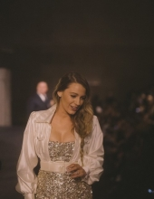 Blake Lively at Chanel The Paris New York 2018-19 Metiers d'art collection