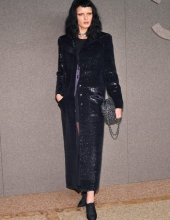 Crystal Renn at Chanel The Paris New York 2018-19 Metiers d'art collection