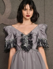Julia Goldani Telles at Chanel The Paris New York 2018-19 Metiers d'art collection