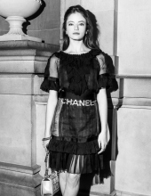Mackenzie Foy at Chanel The Paris New York 2018-19 Metiers d'art collection