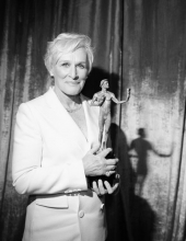 Glenn Close attends the 25th Annual Screen ActorsGuild Awards at The Shrine Auditorium on January 27, 2019 in Los Angeles, California.