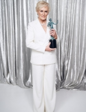 Glenn Close the 25th Annual Screen Actors Guild Awards at The Shrine Auditorium on January 27, 2019 in Los Angeles, California.