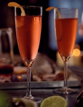 WORLD CLASS Ciroc Vodka Champagne Cosmo
