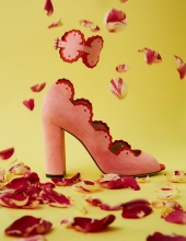 AVEM_Vanessa Suede Lace Up . pink e cavigliera