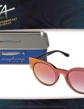 Saraghina eyewear modello Space per film Alita