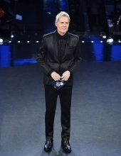 Claudio Baglioni wore Ermanno Scervino