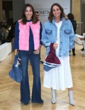 Cristina Parodi & Benedetta Parodi . Simonetta Ravizza guests