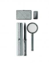 Bottega Venenta  Silver Desk Accessories