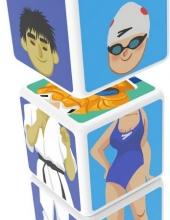Magicube Geomag - 3 Cubes Sports